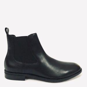 Gordon Rush Cardiff Black Leather Chelsea Boots